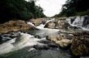 Imagem cachoeira no Centro do Município