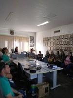 Equipe de Assistência Social do Município   apresentou relatórios na Câmara de Vereadores